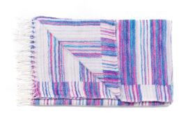 plaid wit met paarse strepen