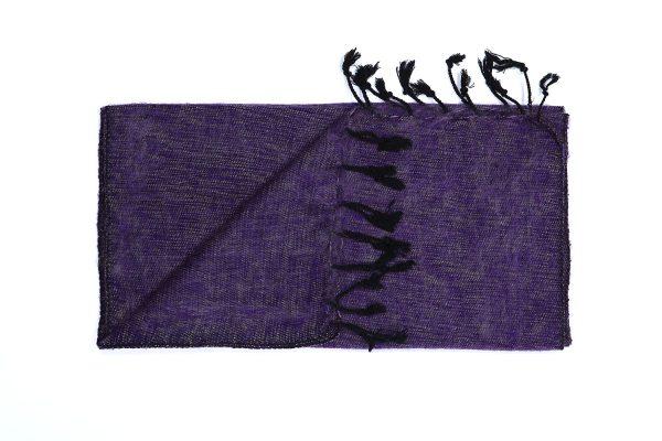 Shawl warm paars